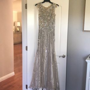 MUSANI GOLD evening gown